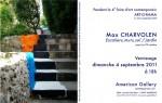 Arts plastiques, Max Charvolen,