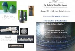 gérard eli,salvatore parisi,céramique,galerie gardanne