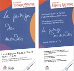 éditions Tipaza, vernissage, lectures