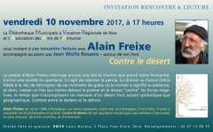 Alain Freixe, jean wolfe rosanis