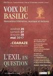 voix du basilic,l'exil en question