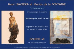 Henri Baviera, exposition, gravures, peintures