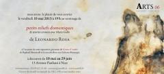 Arts 06, Leonardo Rosa