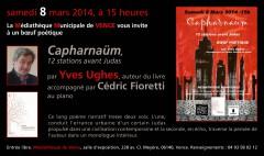 Yves Ughes, Cédric Fioretti, Capharnaüm, L'Amourier