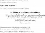 Exposition Michel Butor, Livres d'artiste, éditions La Différence, Youl, Forcalquier