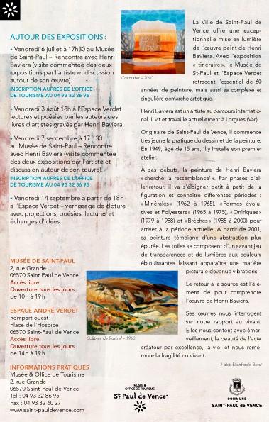 Saint paul de vence les voix du basilic - Saint paul de vence office du tourisme ...