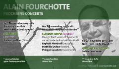 Alain Fourchotte, Raphaël Monticelli, Musique, création