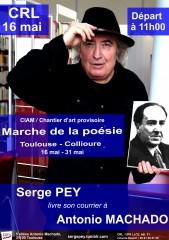 Serge Pey, Antonio Machado