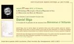 Daniel Biga, Poésie, Bienvenue à l'athanée, Amourier