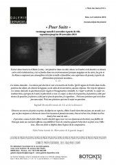 Alain Lestié, Galerie Depardieu Christian