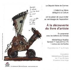 Livre d'artiste, éditions de l'Ormaie
