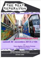 Alain Freixe, Yves Ughes, Beat Generation